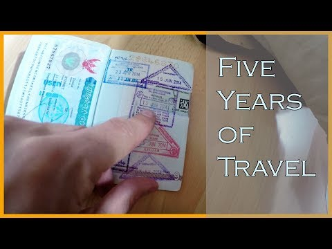 WHAT FIVE YEARS OF TRAVELING DID TO MY PASSPORT