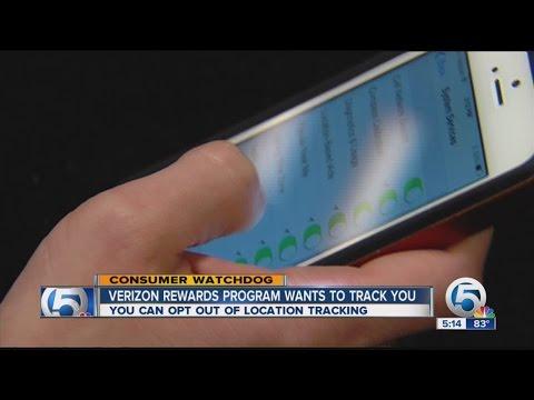 Verizon Rewards Program wants to track you