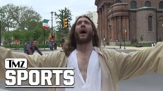 Jesus Is an Eagles Fan?!   TMZ Sports