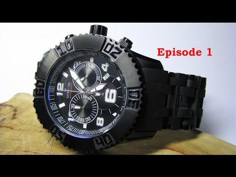 Invicta 6713 Sea Spider Watch. Episode 1.