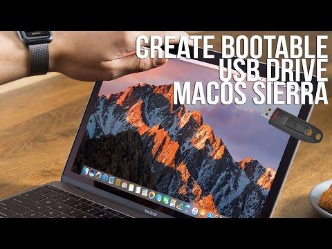 Create bootable USB macOS Sierra - OS X 10.12 - Macbook Pro, Mac Mini / Pro, iMac + Hackintosh