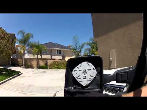2011 FORD F350 SIDE MIRROR REPLACEMENT - GLASS ONLY