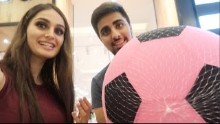 Giant Pink Football !