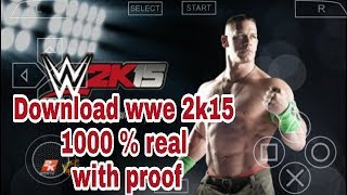 200Mb ] WWE 2K15 Gameplay PPSSPP