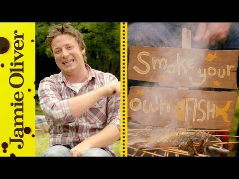 How To Smoke Fish... In a bucket! | Jamie Oliver