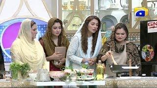 Geo Ramzan Iftar Transmission - Khana Gharana - 15 May 2019 - Ehsaas Ramzan