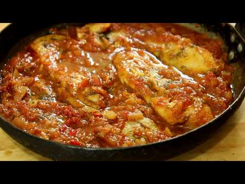 Baked Fish in Caribbean Sauce