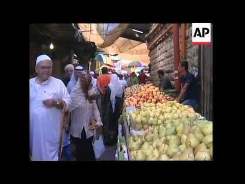 Palestinians prepare for Ramadan in the West Bank