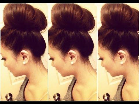 How to: Big Hair Bun Tutorial | HAUSOFCOLOR