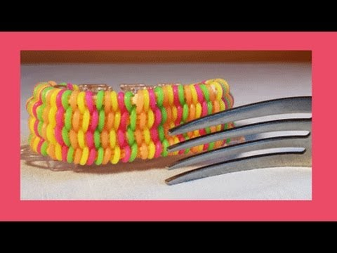 Willis Bracelet on one fork w/ permission from Claire's Wears - Easy