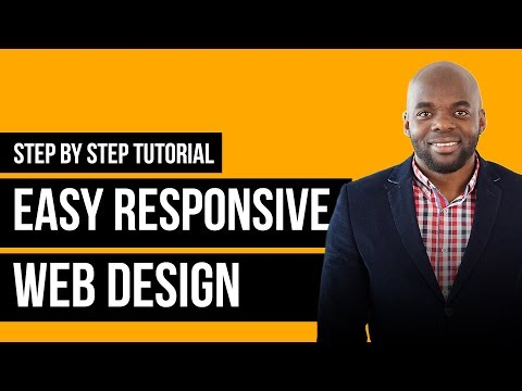 Responsive web design tutorial with Divi