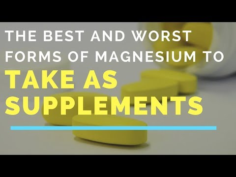 The Best and Worst Forms of Magnesium To Take As Supplements