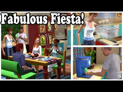 Fabulous Fiesta from The Sims 3 Store!