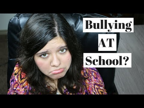 How to Deal With Bullying at School 2018