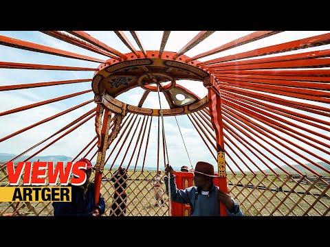 Assembling A Mongolian Ger - New Yurt Celebration | VIEWS