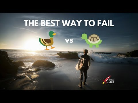 The Best Way to Fail at Anything