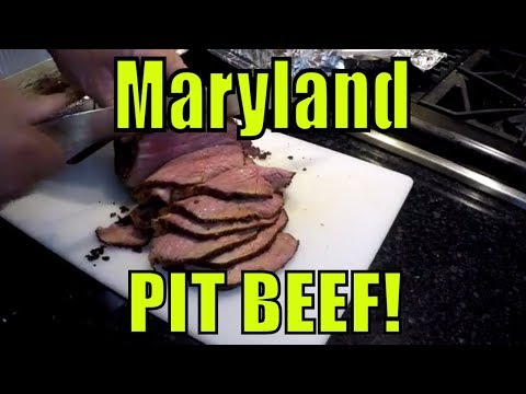 PIT BEEF! Baltimore Style