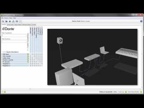 Dante Controller v3.5: Latency Monitoring
