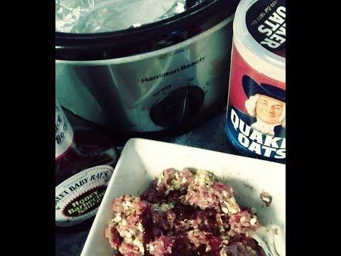Sit-Down Cooking #1) Crockpot Meatloaf