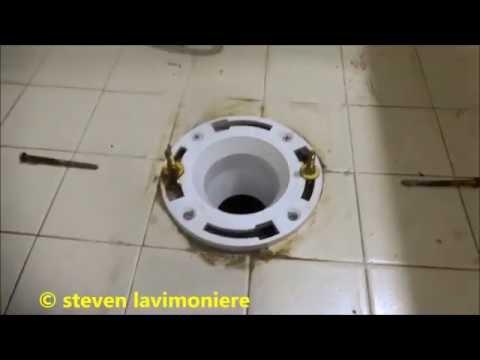 toilet flange repair in manion odd find