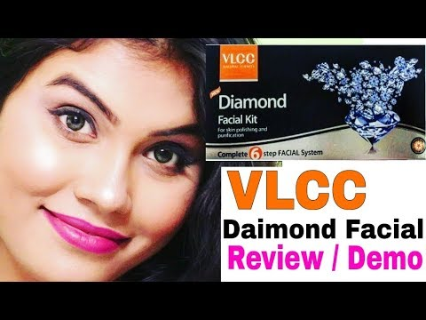 How to Do Facial at Home | Step by Step Demo | Vlcc Diamond Facial Kit Review