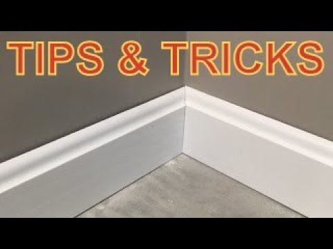 How To Install Baseboard Corners That Look Great