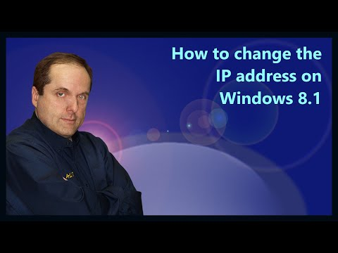 How to change the IP address on Windows 8.1