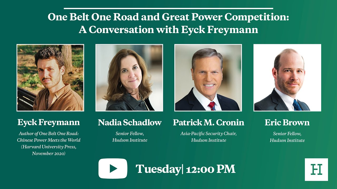 One Belt One Road and Great Power Competition: A Conversation with Eyck Freymann