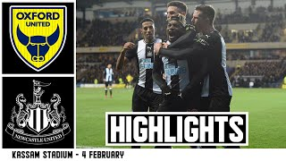 A SAINT-MAXIMIN STUNNER WINS IT! Oxford United 2 Newcastle United 3: Extended Highlights