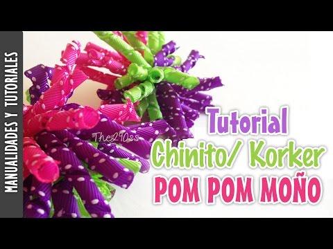 Tutorial: Chinitos/ korker  moño (korker bow) -Los290ss