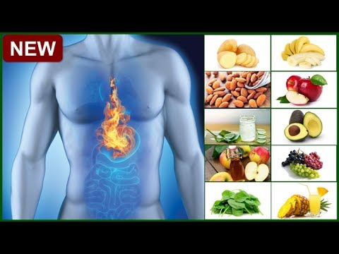 Top 10 Fruits and Plants That Help To Stop Heartburn and Get Rid of Acid Reflux Fast