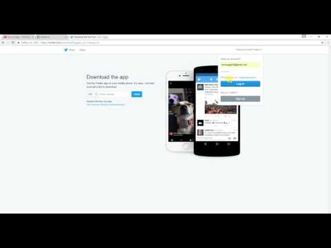 How to access twitter account to email address in Gujarati 2017 [ Gujarati Video ]