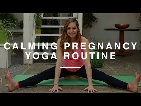 Pregnancy Yoga - 25 Minute Calming Routine | Danielle Hayley | Wild Dish