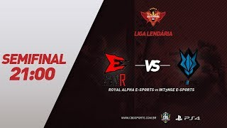 LIGA LENDÁRIA #4 (Semifinal) - Royal Alpha e-Sports VS INT3NSE e-Sports - Rainbow Six (PS4)