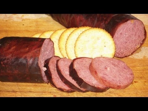 JTO #117 : HICKORY SMOKED DEER SUMMER SAUSAGE