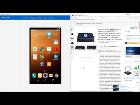 Phonelex 4G LTE Verizon Booster review For Xfinity Mobile