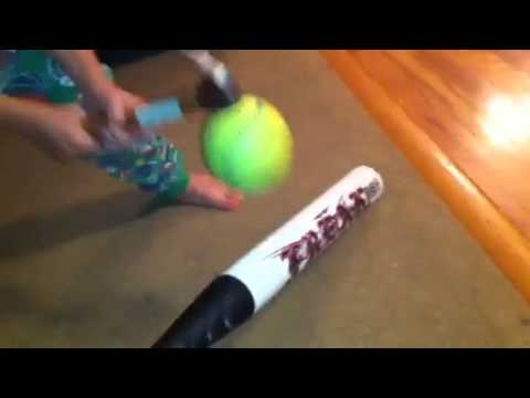 How to break in a softball bat