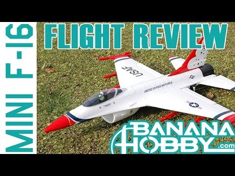 Mini F-16 BlitzRCWorks | Flight Review | EDF Fighter Jet