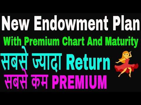 LIC New Endowment With Premium Chart And Maturity    Endowment plan 814
