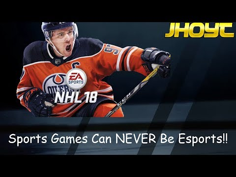 Sports Games Can NEVER Be Esports!! (NHL 18 HUT Gameplay)