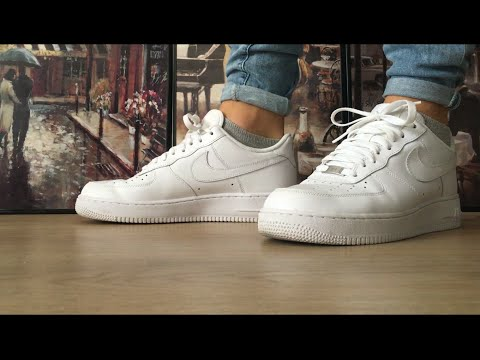 How to Cuff/Roll your Jeans/Pants (Nike Air Force 1)