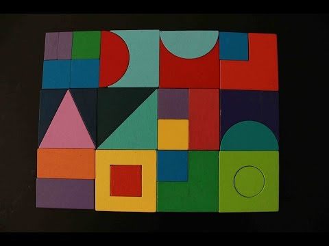 Learning shapes and colors for children