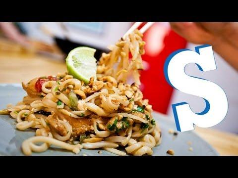 CHICKEN PAD THAI RECIPE - SORTED
