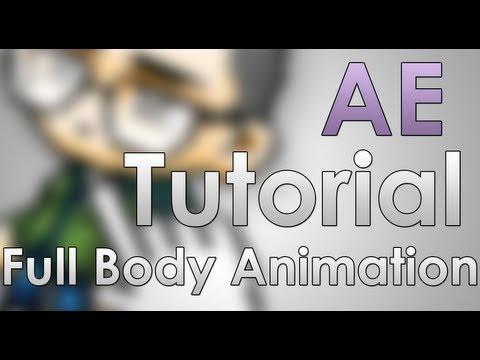 Maplestory AE Tutorial: Full Body Animation + Walking