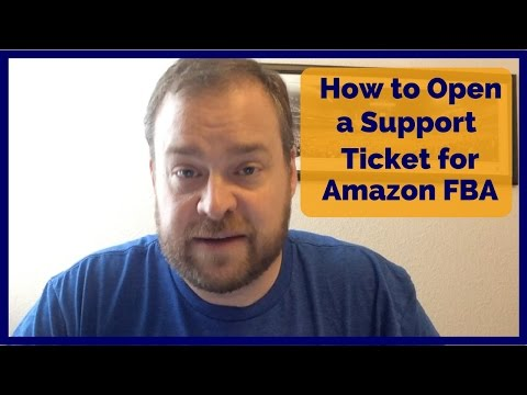 Amazon FBA Seller Support - How to open a help ticket
