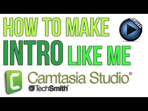 How to make a Stunning Intro Using Camtasia Studio   AskRam