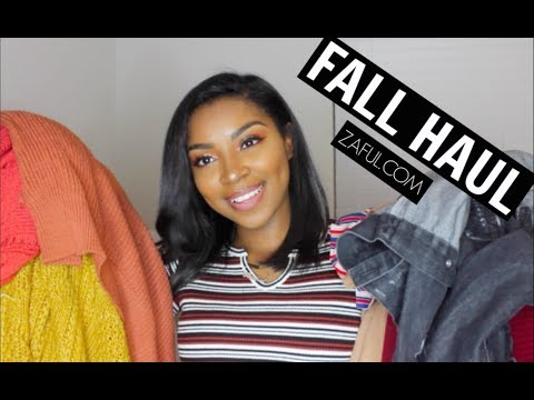 FALL TRY-ON CLOTHING HAUL 2017 | Zaful.com