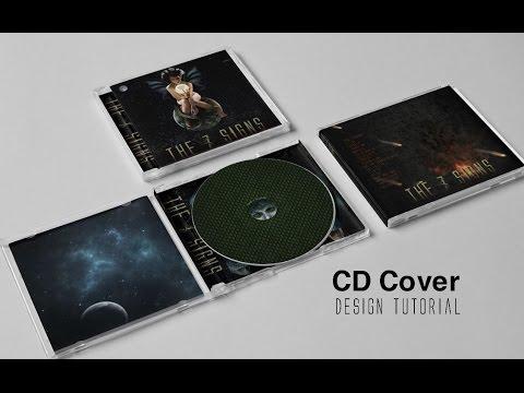 🔴 CD Cover art Design - The Seven Signs -Graphic Design-album cover