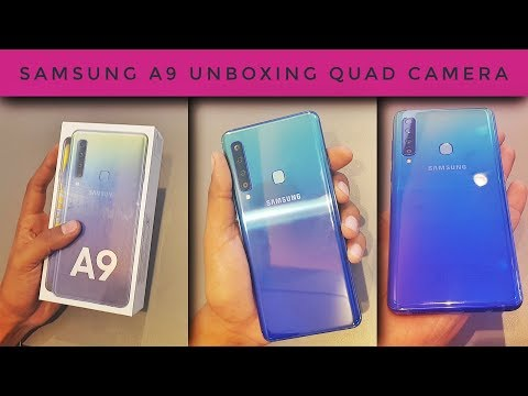 Samsung A9 Unboxing & Camera Review