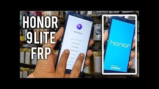 14 minutes) Honor 9 Lite Frp Gsm Developers Video